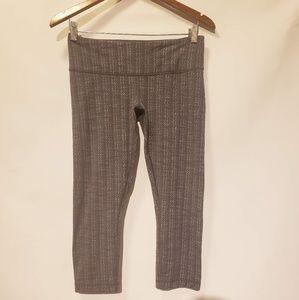 Lululemon capri leggings. Size 8.